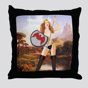 AA76 CP-PSTSML Throw Pillow