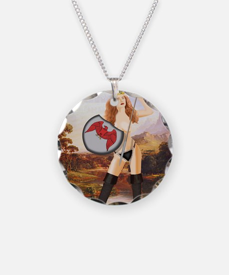 AA76 CP-PSTSML Necklace