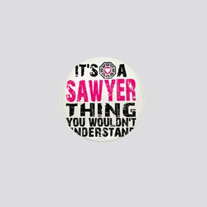 Sawyer Thing Mini Button