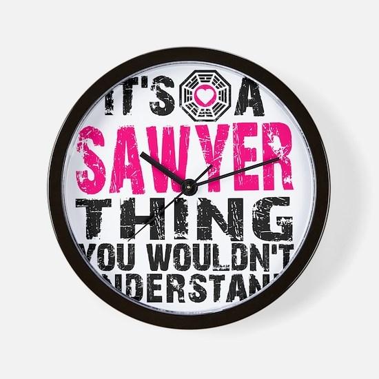 Sawyer Thing Wall Clock