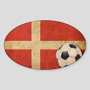 VintageDenmark4 Sticker (Oval)