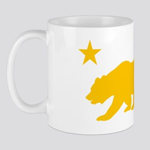 California Bear Yellow2 Mug