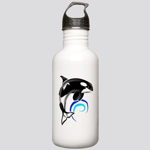 Orca-Darkblue Stainless Water Bottle 1.0L