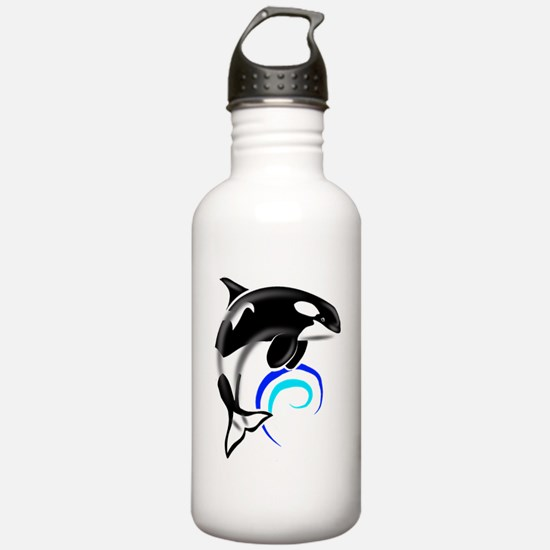 Orca-Darkblue Water Bottle