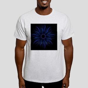 2-TendrilsBlueCLOCK for BLACK Light T-Shirt