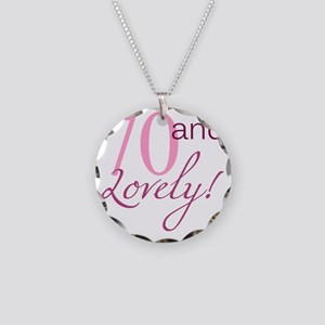 Lovely70 Necklace Circle Charm