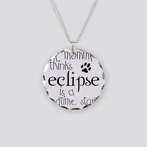 2-mommy_bed_ecl_kid Necklace Circle Charm