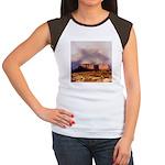 Monument Valley Storm Women's Cap Sleeve T-Shirt