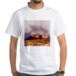 Monument Valley Storm White T-Shirt