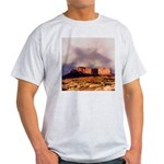 Monument Valley Storm Ash Grey T-Shirt