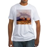 Monument Valley Storm Fitted T-Shirt