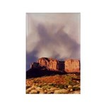 Monument Valley Storm Rectangle Magnet (100 pack)