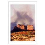 Monument Valley Storm Large Poster