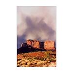 Monument Valley Storm Mini Poster Print