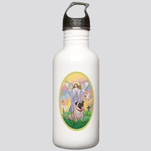 OvOrn--Blessings-Pug # Stainless Water Bottle 1.0L