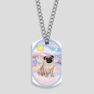 OvOrn-Clouds-Pug 17 Dog Tags