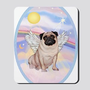 OvOrn-Clouds-Pug 17 Mousepad