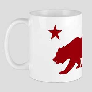 California Bear Red2 Mug