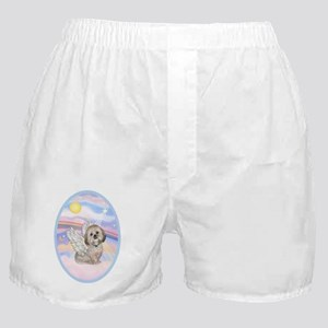 OvOrn-Clouds - Lhasa Apso 11 Boxer Shorts