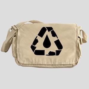 oil_spill_point2 Messenger Bag