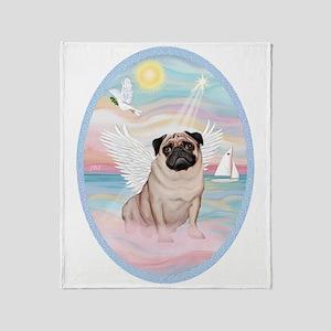 Heavenly Sea-Pug 17 Throw Blanket