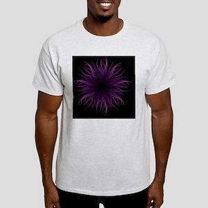 2-TendrilsPRPL BLKCLOCK Light T-Shirt
