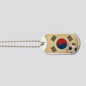 VintageKoreaFlag2 Dog Tags
