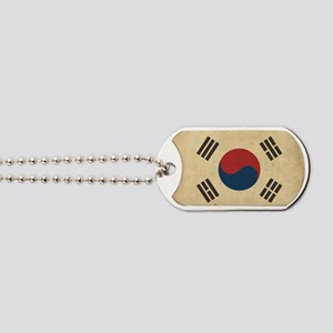 VintageKoreaFlag1 Dog Tags