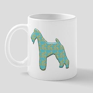Paisley Terrier Mug