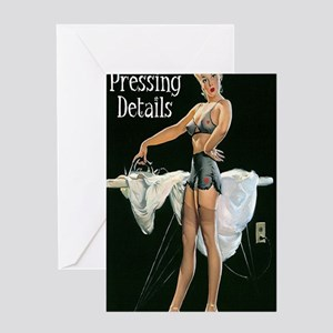 pressing details journal Greeting Card
