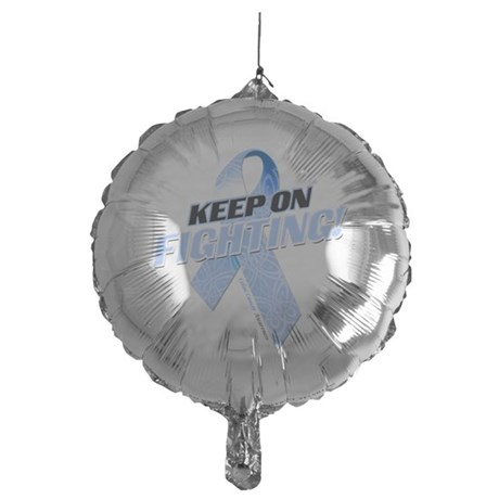 Keep on Fighting Colon Cancer Mylar Balloon