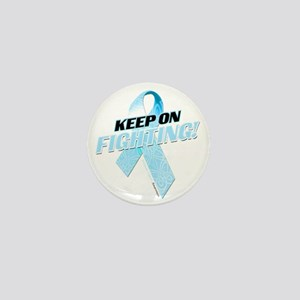 Keep on Fighting Prostate Cancer Mini Button