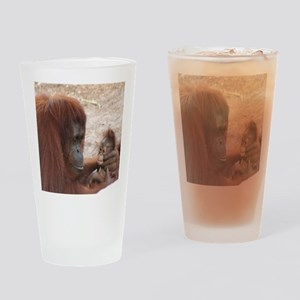 orang mombaby-cstr Drinking Glass