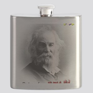 walt-kingfu-shirt Flask