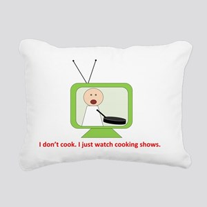 CookingShows copy Rectangular Canvas Pillow