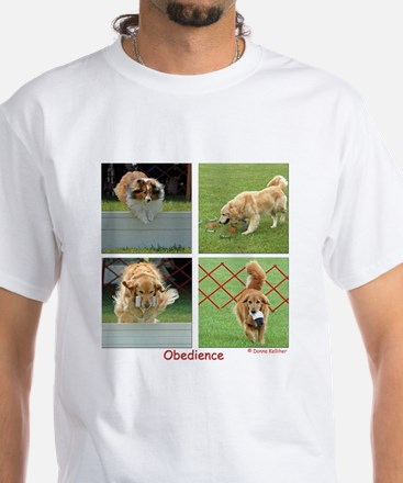 Obedience White T-Shirt