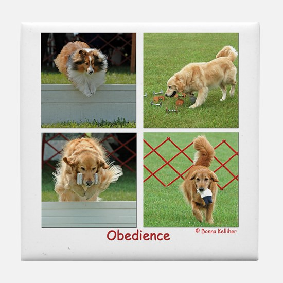 Obedience Tile Coaster
