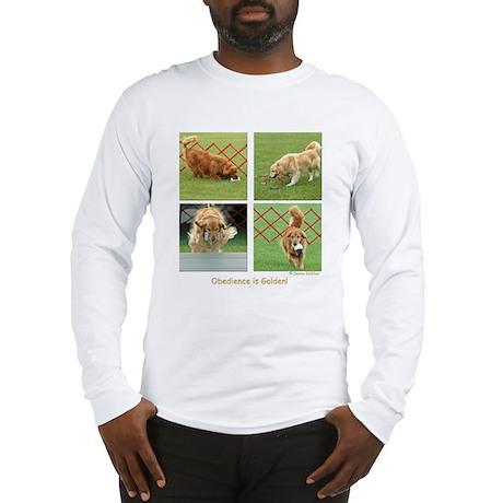 Golden Retriever Obedience Long Sleeve T-Shirt