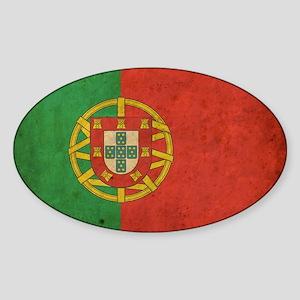 vintagePortugal3 Sticker (Oval)