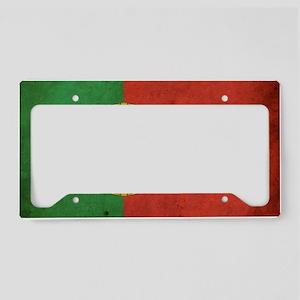 vintagePortugal3 License Plate Holder