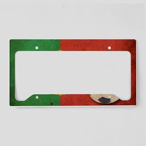 vintagePortugal4 License Plate Holder