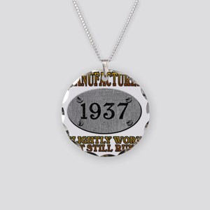 1937 Necklace Circle Charm