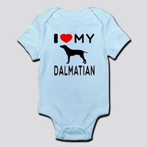 I Love My Dalmatian Infant Bodysuit