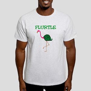Flurtle Ash Grey T-Shirt
