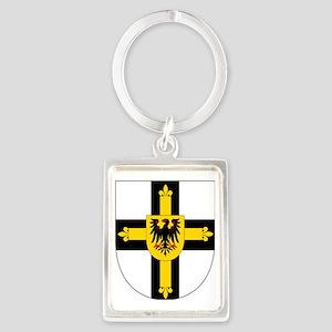 Teutonic Knights Grand Master Portrait Keychain