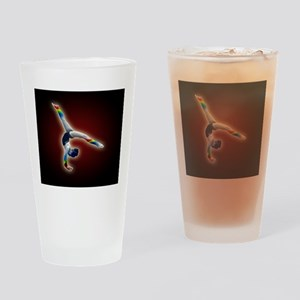 rainbow gymnast lg poster Drinking Glass