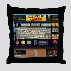 mousepad Throw Pillow
