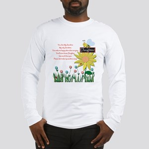 You Are My Sunshine Daughter Long Sleeve T-Shirt