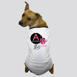 InitialLadyLikeAirForceWife Dog T-Shirt