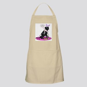 Black Lab Easter BBQ Apron